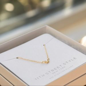 Petite Butterfly Necklace | 14k Gold Plated